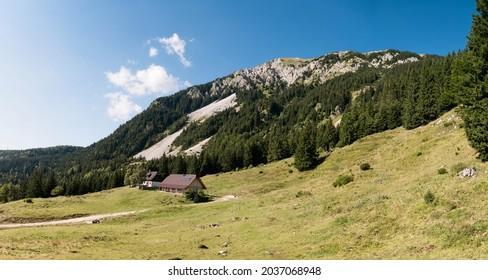 Slovenia beautiful Stol mount view