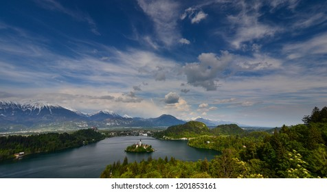 Slovenia - Bled, Julian Alps