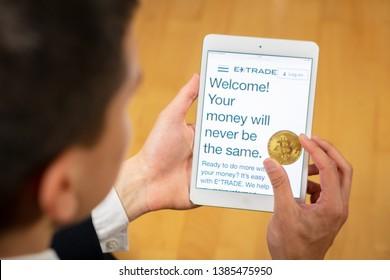etrade bitcoin simbolo
