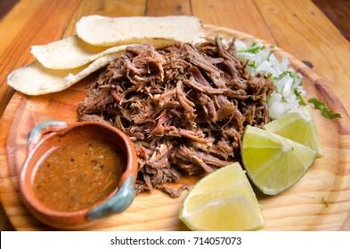 Slow cooker traditional mexican lamb barbacoa