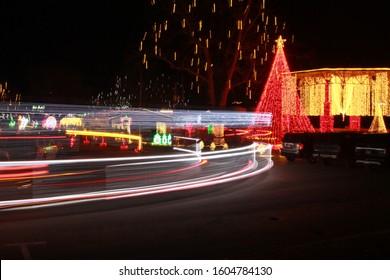 Drive Thru Christmas Lights 2021 Christmas Drive Through Lights Images Stock Photos Vectors Shutterstock