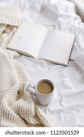 Slow mornings with a book and coffee