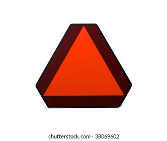 Slow Moving Vehicle Placard