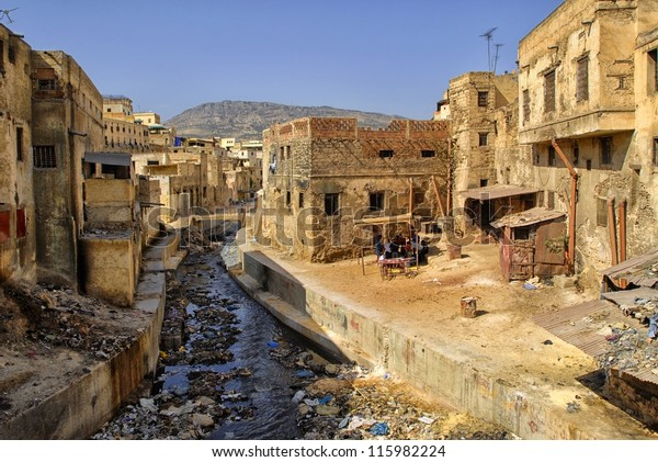 Political Correctness, LGBTQ, #meToo and other related topics - Page 4 Slums-downtown-fez-morocco-600w-115982224