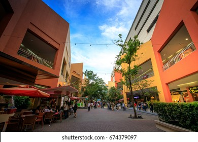 SM Mall of Asia (MOA) is a 2nd largest mall in the Philippines on Jul 7, 2017 in Manila, Philippines - Landmark