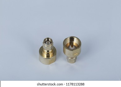 SMA adapter on a white background