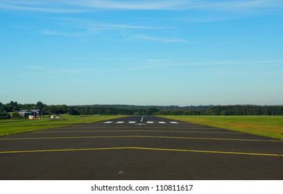 Small airstrip in germany (eifel)