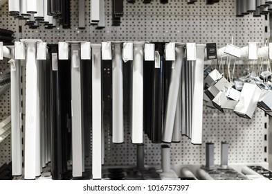 small aluminum legs