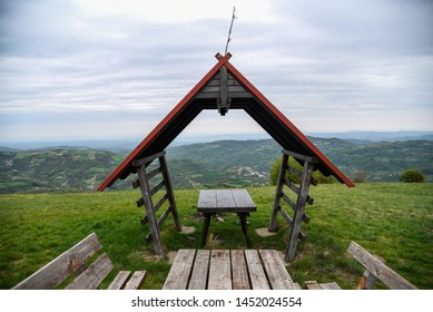 Small authentical summer rest house on the top of Rajac mountain in Serbia