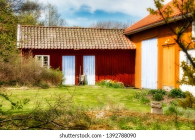 Small Barn on Southern Koster Island, Sweden