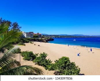 The small beach of Sosua, Playa Alicia