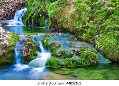 small beautiful river