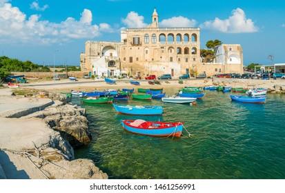 The small and beautiful of San Vito, near Polignano a Mare, Bari Province, Apulia (Puglia), southern Italy.