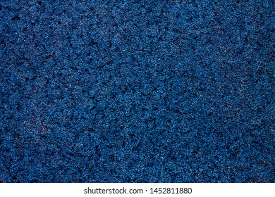 small blue gravel as background