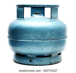Small blue lpg tube.