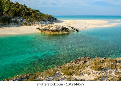 Shroud cay images stock photos vectors shutterstock a small boat pulled up onto a perfect isolated beach on shroud cay in the sciox Images