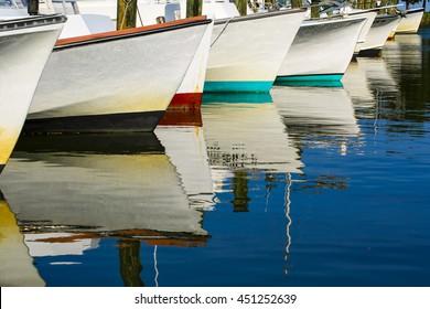 Small Boats at a Local Marina