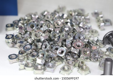 small bolts and nuts by manufacturing process ; tapping
