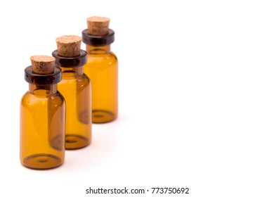 Small Bottle with Cork - Perfect for homemade cosmetics or oils