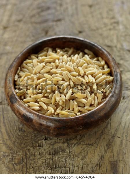 Small bowl of kamut