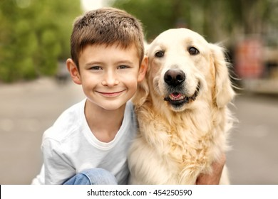 Boy Dog Images, Stock Photos & Vectors | Shutterstock