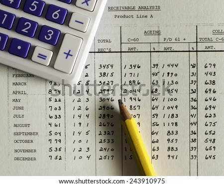 small business accounting ledger stock photo edit now 243910975