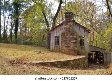A Small Cabin in the Country