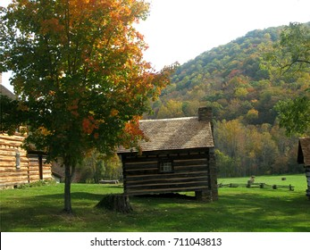 Small Cabin at Vance Birthplace State Historic Site