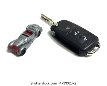 Small car with a key