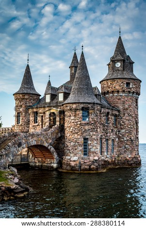 Small Castle Moat Water Stock Photo Edit Now 288380114
