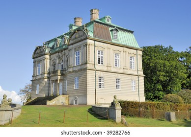 A small Castle placed in The Deer Park north of Copenhagen, used by the Royal Family for Hunting festivities.