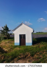 A small chapel among the fields, near the town of Holešov.