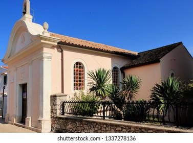 small church in Mali Losinj, island Losinj, Croatia