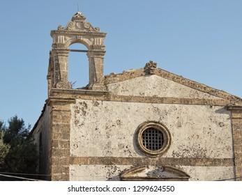 small church of marzamemi in Sicily