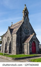 Small church in New Cemetery, Bohermore, Galway, Ireland