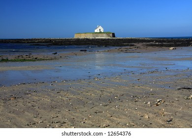 Small Church on a tidal island off Anglesey