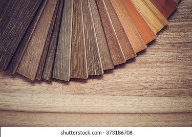 Small color sample boards. toned image macro