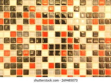 small colorful tile background