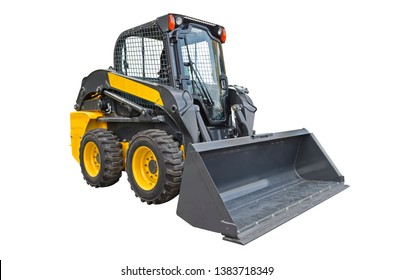 Small compact skid steer loader