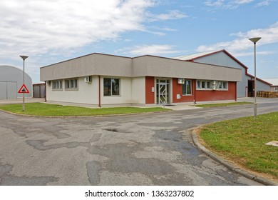 Small Company Business Building Structure Exterior
