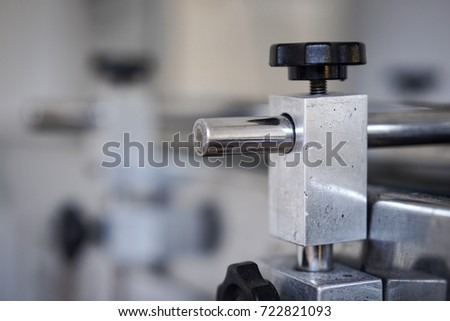 Small Conveyor Belt Factory Stock Photo (Edit Now) 722821093
