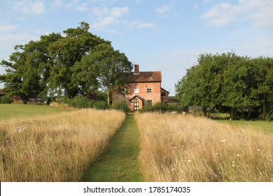 Small Cottage in the Suffolk Countryside, Rural England
