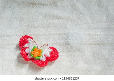 small crochet butterfly crafts
