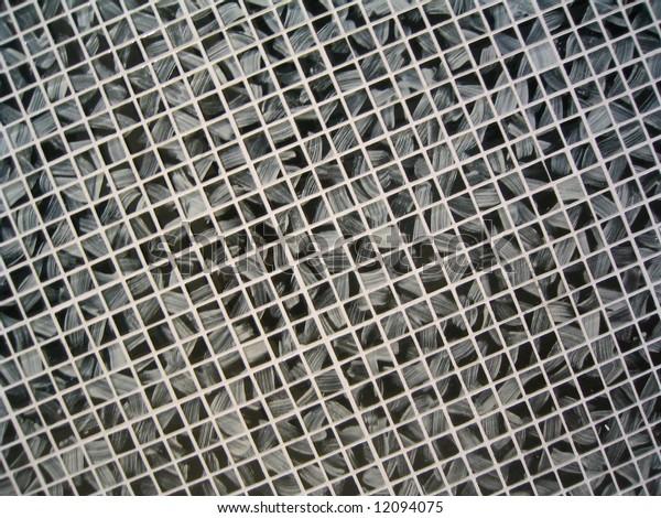 Small dark pattern tile