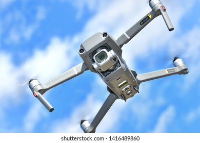 A small drone dedicated to aerial photography