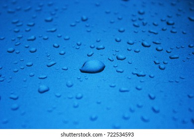 Small drops of water