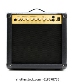 Small electric guitar amplifier
