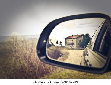 A small farmhouse