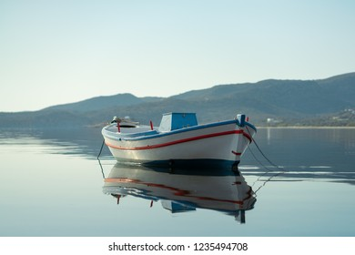 Small fish boat