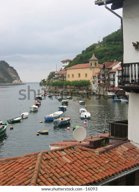 Small fishing village in Northern Spain.
